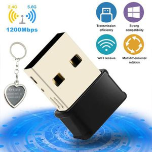 CLE WIFI - 3G Clé WiFi 1200Mpbs Adaptateur USB 3.0 WiFi Dongle s