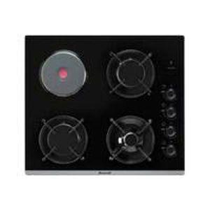 PLAQUE MIXTE Brandt - table de cuisson mixte 51cm 4 feux noir -