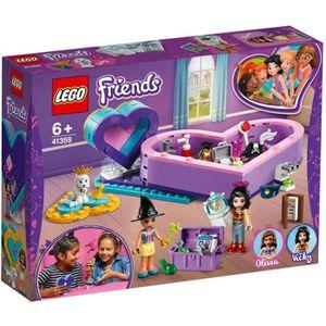 MICRO NEUF LEGO CITY//FRIENDS Emma avec guitare turquoise//violet avec étoile
