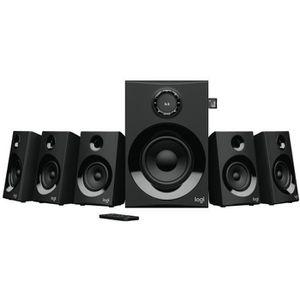 ENCEINTES Logitech Z607, 5.1 canaux, 80 W, Universel, Noir,