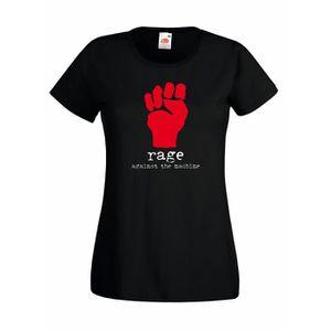 T-SHIRT T-shirt  femme Rage Against the Machine -  T-shirt