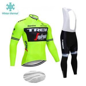 TENUE DE CYCLISME TREK Hiver Maillot de Cyclisme Homme Thermique Fle