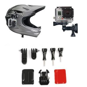 fixation casque gopro hero achat vente pas cher. Black Bedroom Furniture Sets. Home Design Ideas