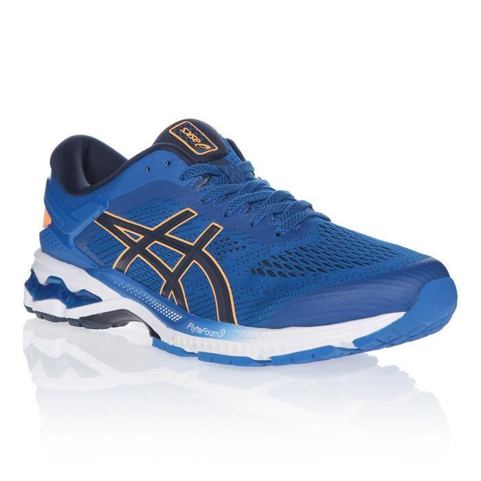 ASICS Chaussures de running Gel-Kayano 26 - Homme - Bleu