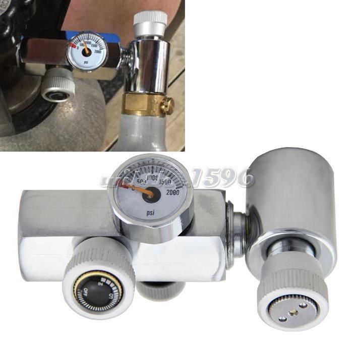 Recharge adaptateur pour SodaStream Cylindre de CO2 recharge connecteur Soda Stream W21.8 à TR 21 x 4