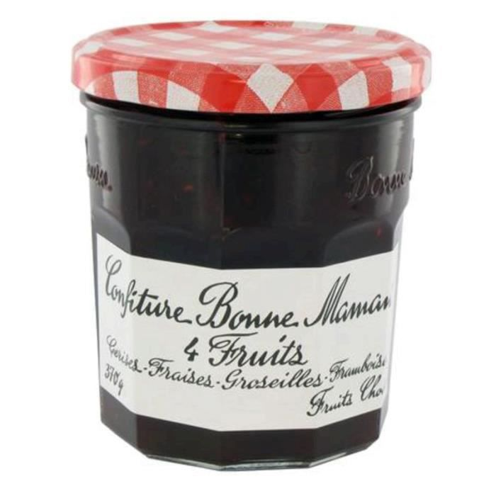 ANDROS Confiture 4 fruits - 450g