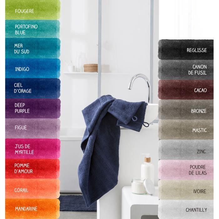 Maxi drap de bain - 500 gr/m² - 90 x 150 cm - Today - Mastic