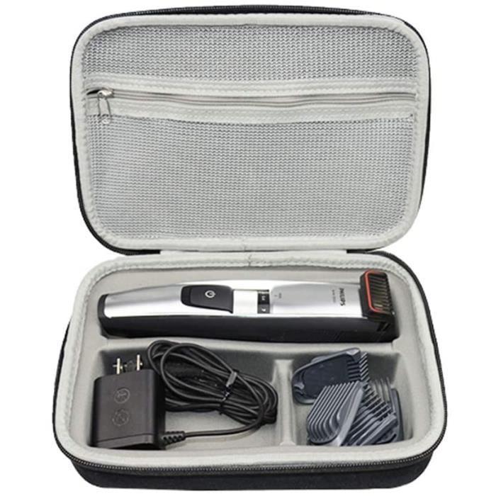 Rasoirs électriques et accessoires Voyage Stockage Porter Étui Housse pour Philips BT5206-16 BT5200-16 Tondeuse barbe Se 63718