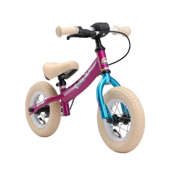 BIKESTAR - Draisienne - 10 pouces - pour enfants de 2-3 ans - Edition Sport - garçons et filles - Berry Turquoise