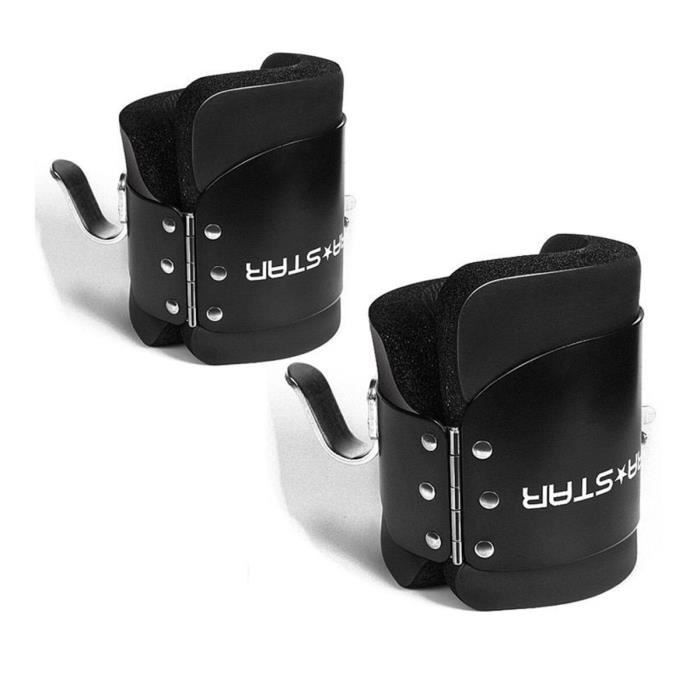 1 paire de bottes suspendues Anti-gravité Inversion raccrocher chaussures thérapie accrocher la colo - Modèle: Black - HSJSZHA11179