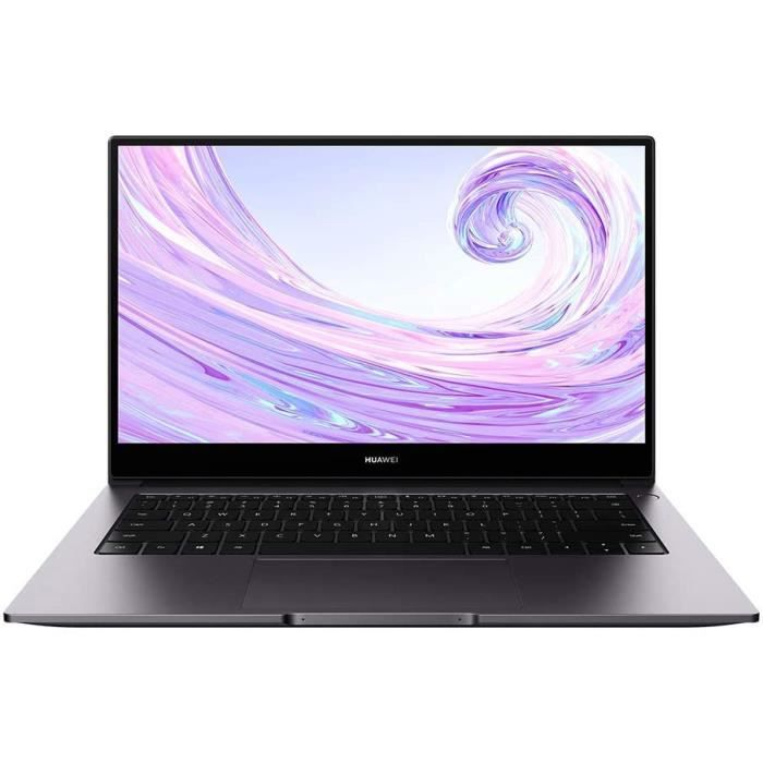 HUAWEI MateBook D 14 2020 PC Portable 14'' 1080p FHD (AMD Ryzen 7 3700U, RAM 8Go, SSD 512Go, Windows 10 Home, Clavier Français AZERT