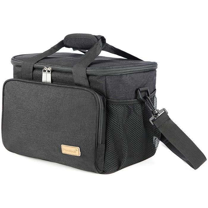 OUVREUR MULTI USAGE Sac Isotherme 30L Grande Capacit&eacute Glaciere Sac Repas Lunchbox Portable Sac de Pique Nique Lunch Bag a808