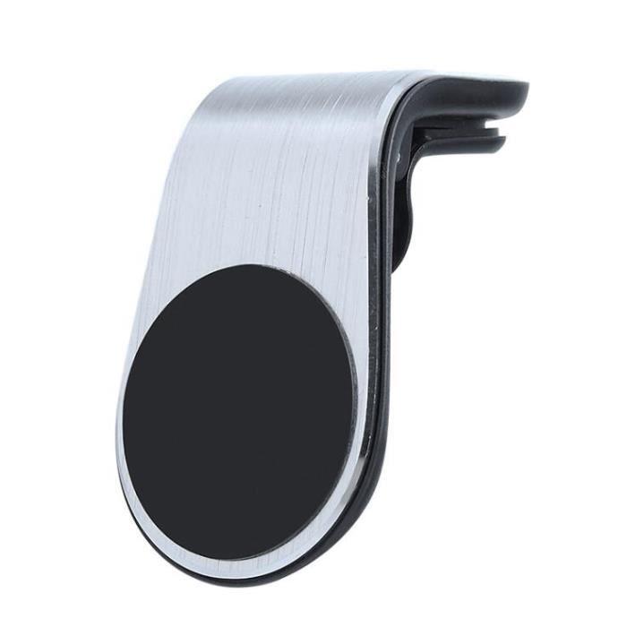 Supports voiture,Métal support de téléphone magnétique pour voiture pour Volkswagen, pour VW Tiguan Passat Golf - Type Argent