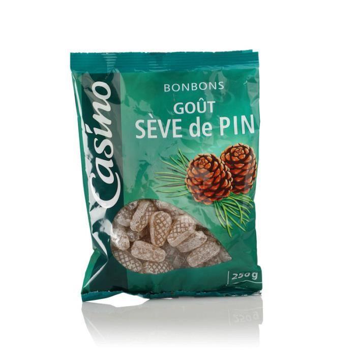 CASINO Bonbons Goût Sève de pin - 250 g