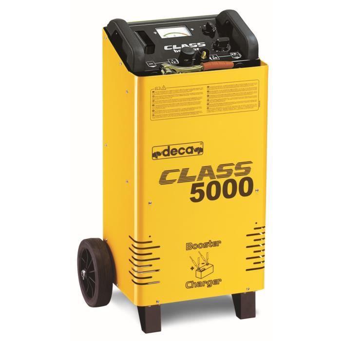 DECA Chargeur Démarreur de Batterie 12-24 Volts - 800 Amp/h