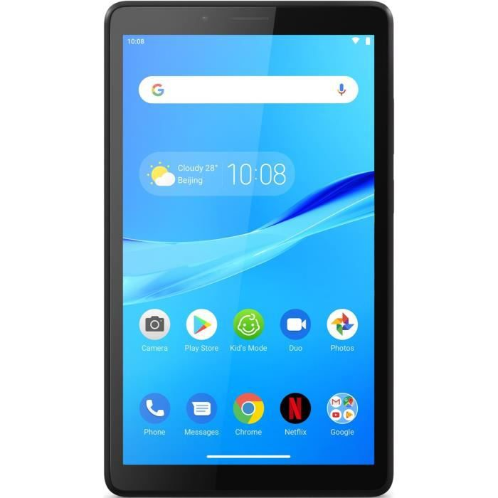 Tablette Tactile - LENOVO M7 - 7'' HD - RAM 1Go - Stockage 16Go - Android 8 - Iron Grey