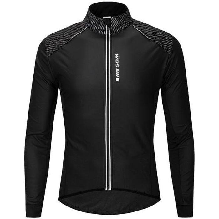 Ekb Veste De Cyclisme Homme Hiver Thermique échauffement Polaire Route Vtt Vélo Vélo Vêtements Sportswear Coupe-vent équitation