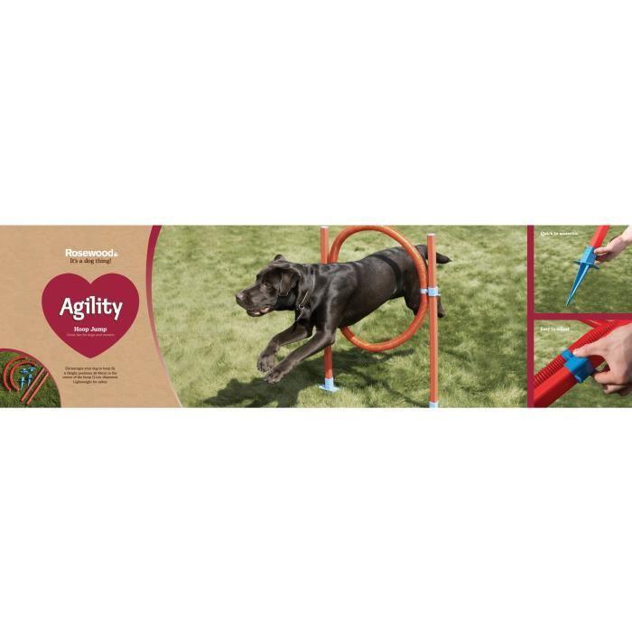 ROSEWOOD Anneau d'agilité - Pour chien