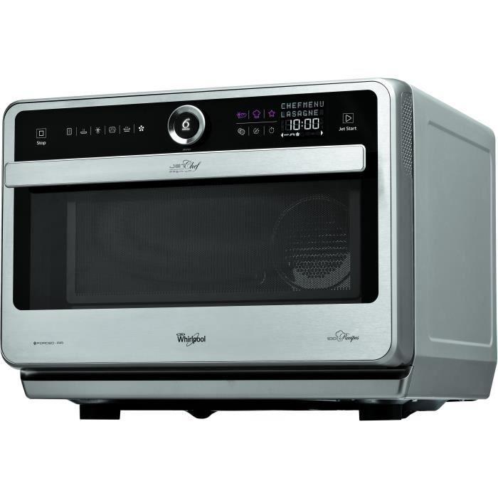 WHIRLPOOL JT 479 IX-Four micro ondes grill combiné inox-33 L-1000 W-Grill 1200 W-Air pulsée 1500 W