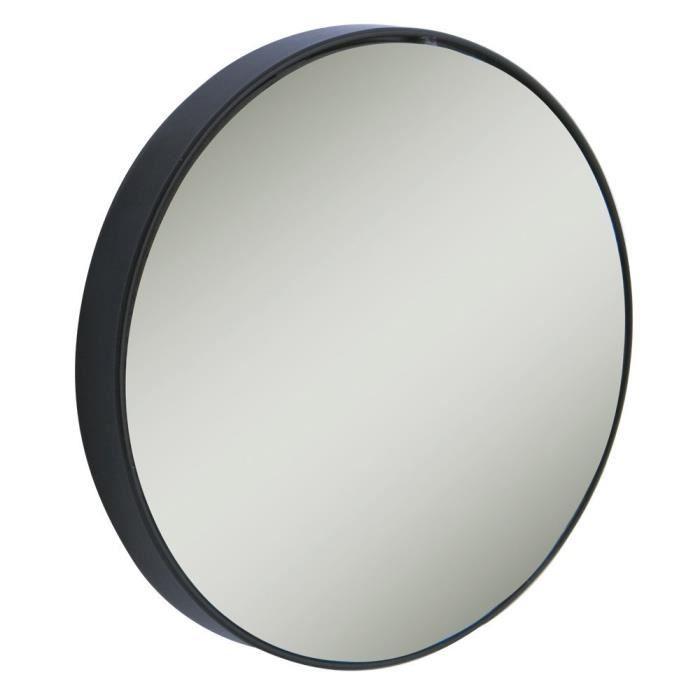 Petit miroir grossissant 15x avec 3 ventouses: Hygiène et Soins du corps
