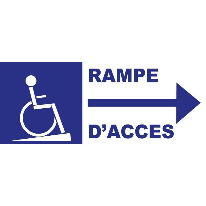 Rampe acces handicape achat vente rampe acces handicape pas cher cdiscount for Rampe d acces handicape