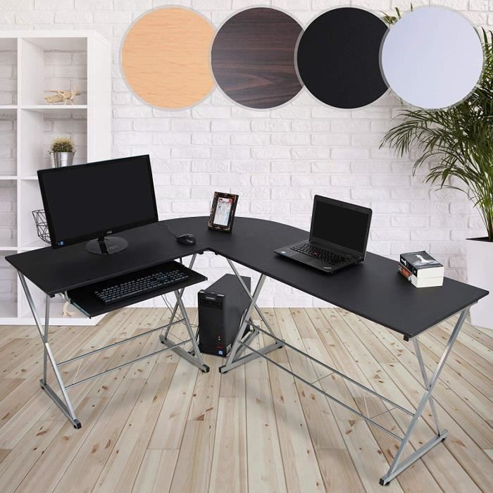 BUREAU  Bureau d'Angle Informatique | 170x136x74,5 cm, For