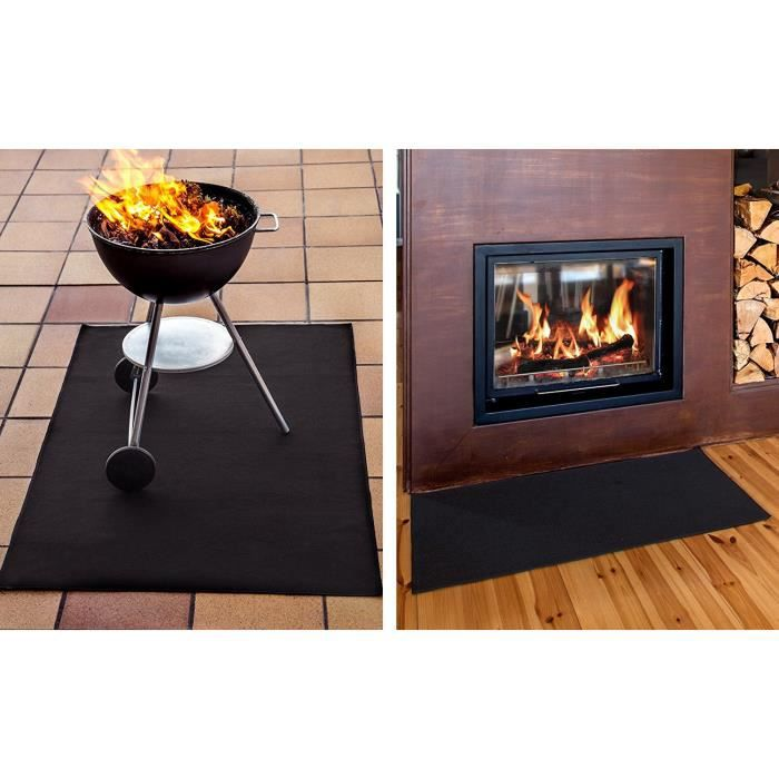 tapis anti feu achat vente pare feu tapis anti feu cdiscount. Black Bedroom Furniture Sets. Home Design Ideas
