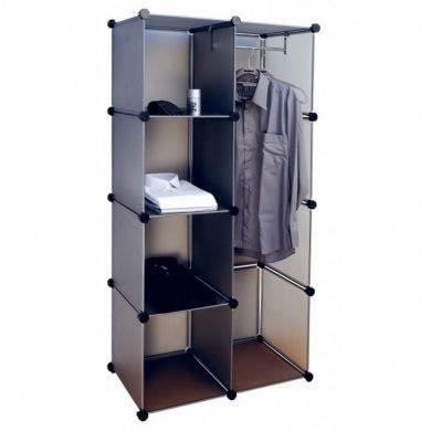 rangement placard cube pour v tements 4 petites 1 grande tag re de stockage achat vente. Black Bedroom Furniture Sets. Home Design Ideas
