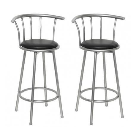 tabouret de bar retro achat vente tabouret de bar retro pas cher cdiscount. Black Bedroom Furniture Sets. Home Design Ideas