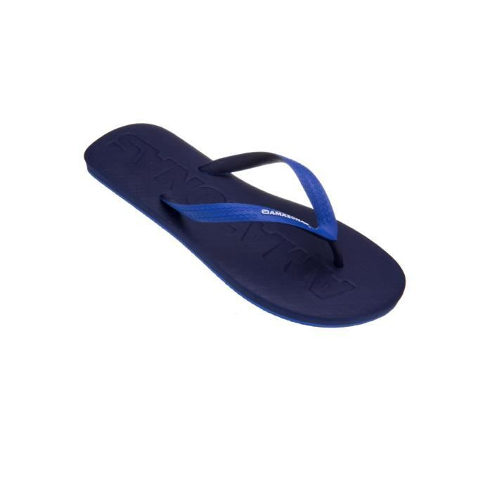 Tongs homme Amazonas Fun Soft Marine et Bleu