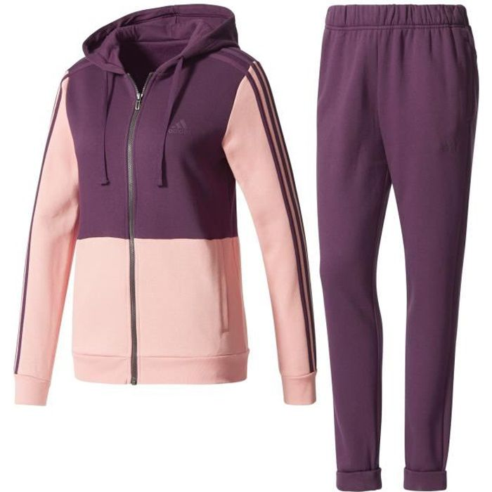 Survetement adidas femme en polyester
