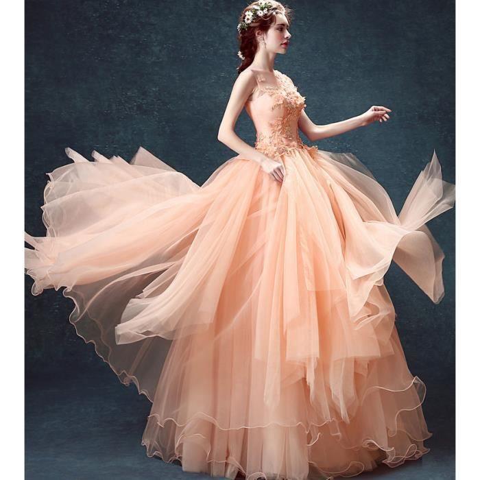 Robe Longue de princesse femmes Pour Céré