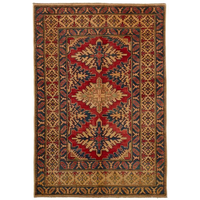 tapis d 39 orient nou main kazak 110 beige 120x1 achat. Black Bedroom Furniture Sets. Home Design Ideas