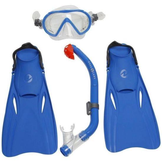 Aqua Lung Sport Ensemble de Santa Cruz//Masque Palmes et Tuba pour Enfant