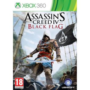 JEU XBOX 360 ASSASSIN'S CREED IV : BLACK FLAG / Jeu XBOX 360