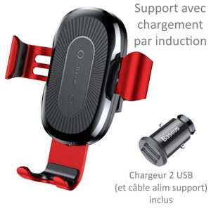 FIXATION - SUPPORT Support Auto Chargeur Induction Pour HUAWEI MATE 2