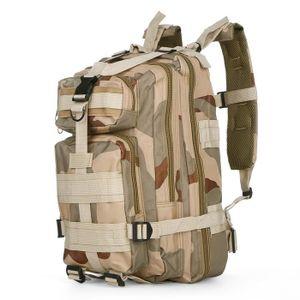 Armée Trekking Sac à dos Olive vert 30 L Outdoor École Militaire Coton