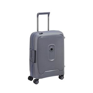 VALISE - BAGAGE Valise cabine slim grise 4 roues doubles 55 cm -co