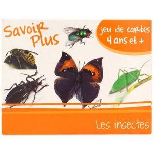CARTES DE JEU Jeu de cartes éducatif 7 Familles - Les Insectes