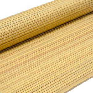 CLÔTURE - GRILLAGE eyepower Canisse en PVC 80x300cm | rouleau en plas