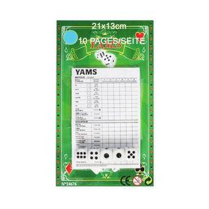 Lot de 8 Dés à Jouer Jeu de Société Neuf Taille Standard Yam Jeu de Carte Ludo
