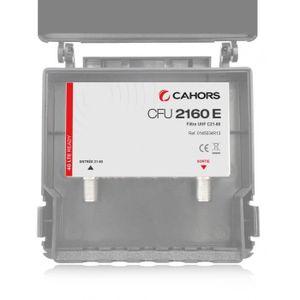 REPETEUR DE SIGNAL CAHORS CFU 2160E Filtre UHF 21-60 Extérieur Réject