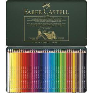 CRAYON DE COULEUR FABER-CASTELL Coffret de 36 Crayons de couleur aqu