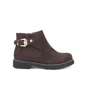 BOTTINE bottine - boots, Bottines Marron Chaussures Femme