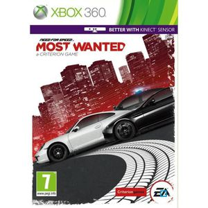 JEUX XBOX 360 NEED FOR SPEED MOST WANTED / Jeu console XBOX 360