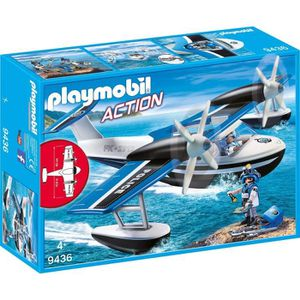 UNIVERS MINIATURE PLAYMOBIL 9436 - Action - Hydravion de police