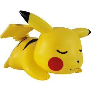 LAMPE A POSER POKEMON Lampe LED 25cm Pikachu Sleeping