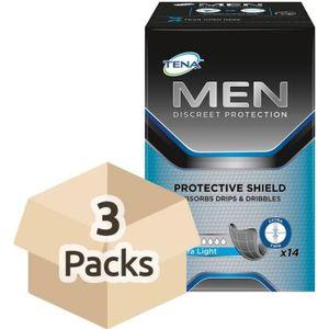 FUITES URINAIRES TENA Men Protective Shield - Extra Light - Case -
