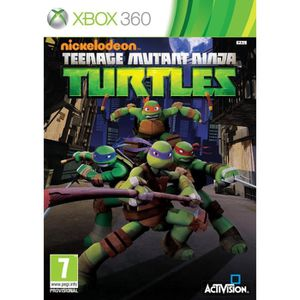 JEUX XBOX 360 Teenage Mutants Ninja Turtles Kids Jeu XBOX 360