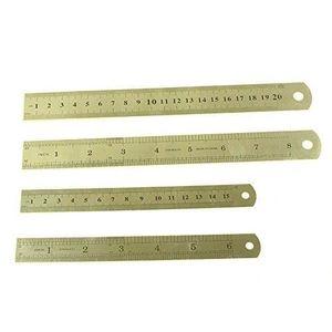 Acier règle acier Echelle règle acier 300mm 30cm 12 pouces 1000mm 100cm 1m 40 pouces